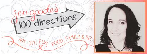 Jen Goode - Illustrator - 100 Directions