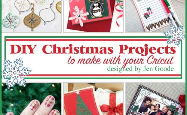 Christmas Cricut Projects 100 Directions