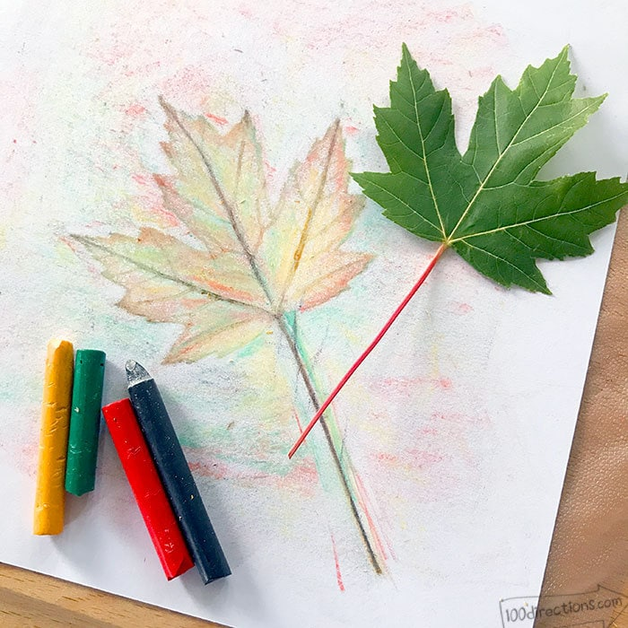 This is a graphic of Ambitious Grabbing Leaf Drawing