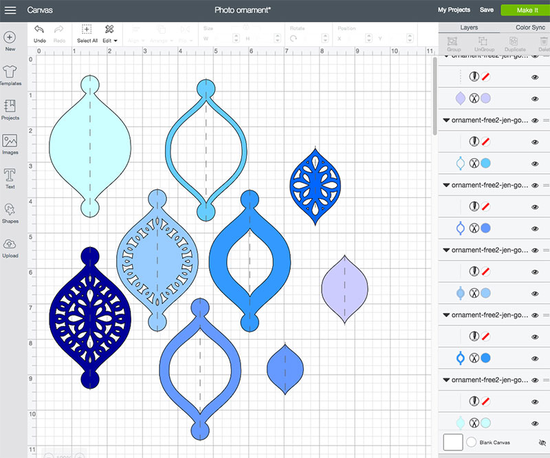 Download Homemade Christmas Ornaments with SVG cut file - 100 ...