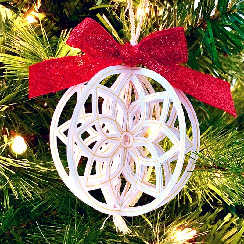 Diy Handmade Christmas Ornaments With Cut Paper 100 Directions