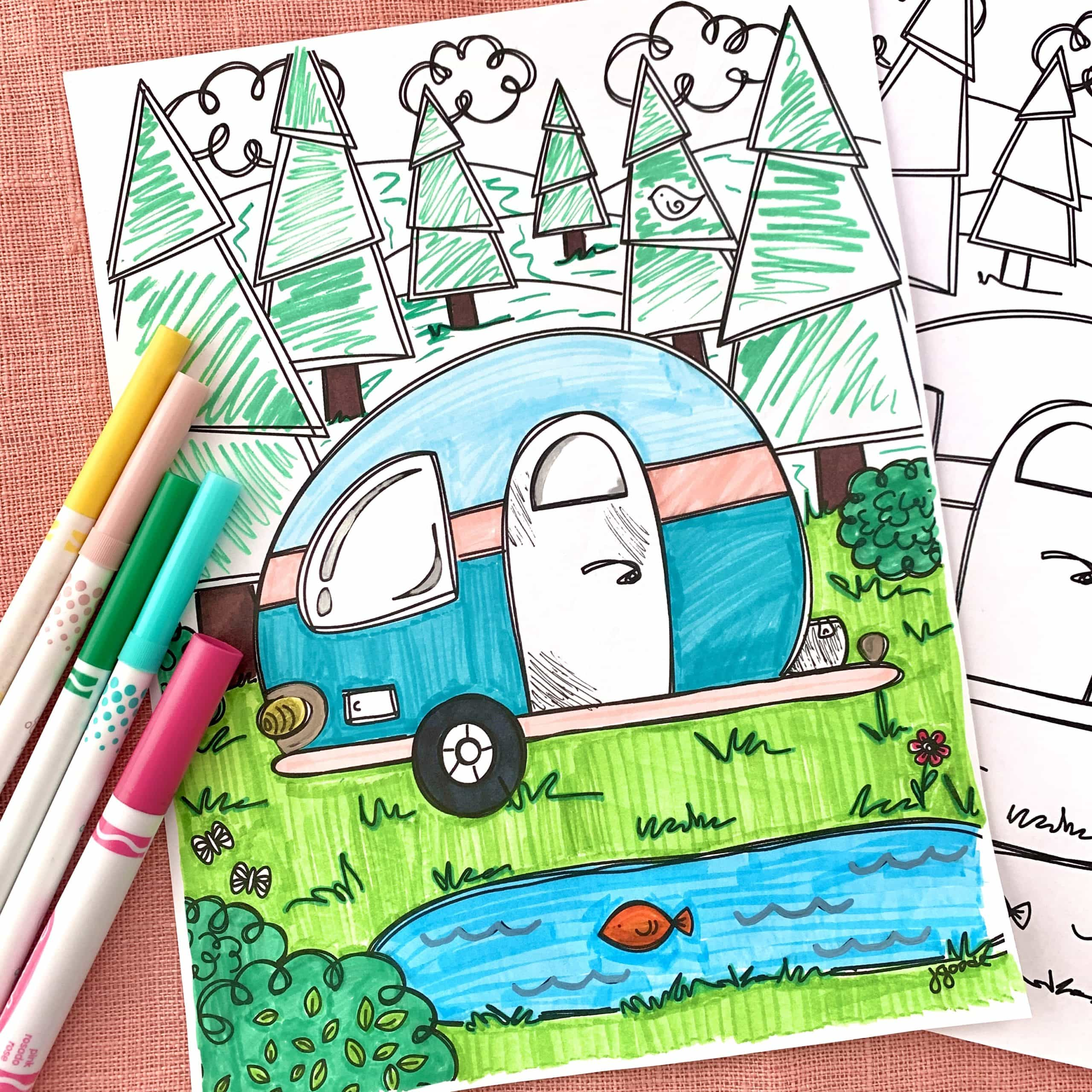 Free Family Fun Camping Printables