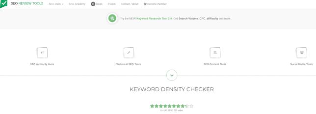 Seo Review Tools