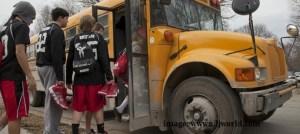 basketball bus