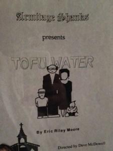 tofu water