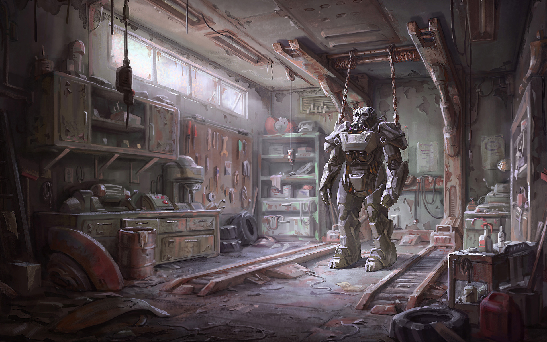 Desktop Wallpaper Fall Out Fallout 4 Armour Wallpapers Wallpapers Hd