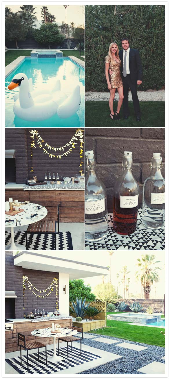 Palm Springs 30th Birthday Party Party Entertaining Ideas