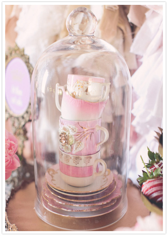 Stacked Tea Cup Decoration 100 Layer Cake
