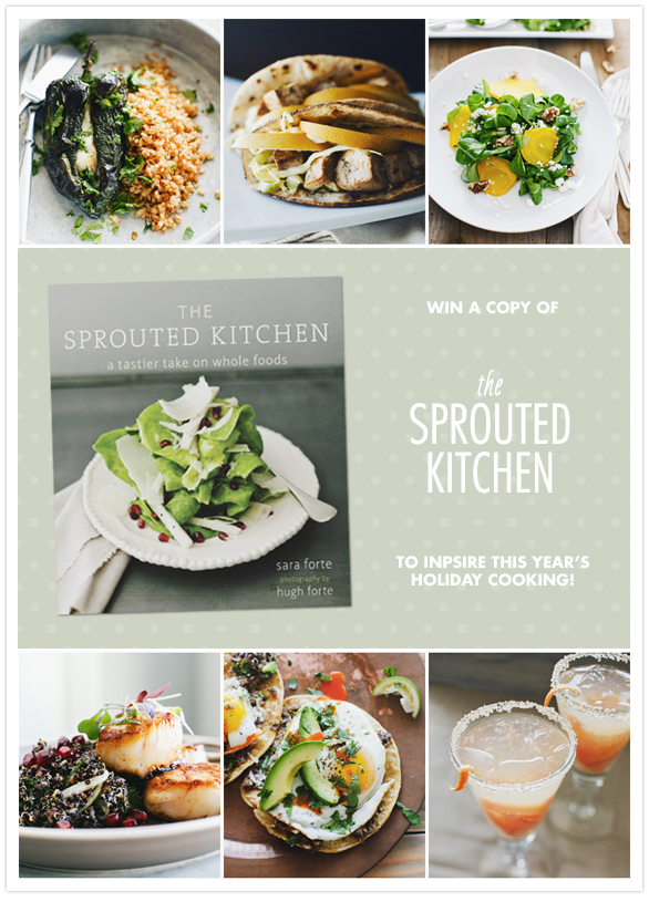 Sprouted Kitchen Cookbook Giveaway 100 Layer Cake