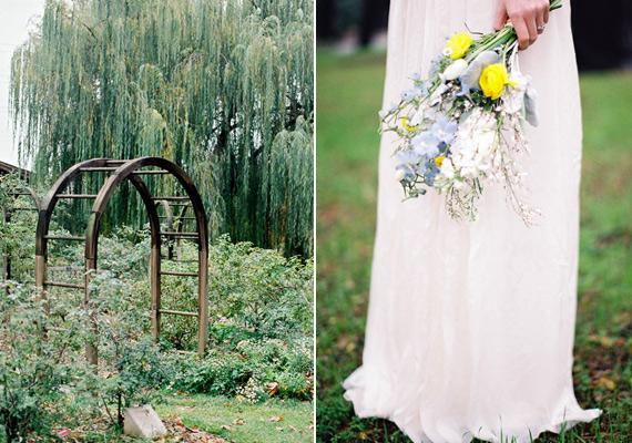 Spring Garden Wedding Ideas Real Weddings 100 Layer Cake