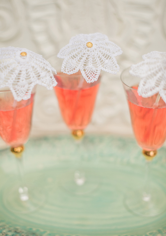 diy napperon cocktail remuer   gâteau 100 Layer