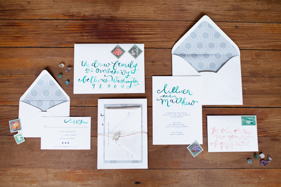 Jewel Tone Copper Wedding Inspiration Featured On Midwest Bride