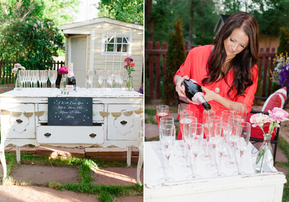 Backyard Summer Engagement Party Engagements Party Entertaining Ideas 100 Layer Cake