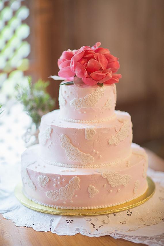 Florida Botanical Garden Wedding 100 Layer Cake