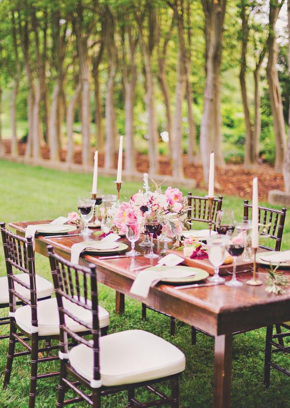 Vintage Garden Wedding Ideas 100 Layer Cake