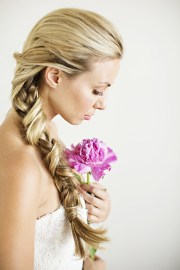 unique braided bridal hairstyles
