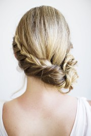 unique braided bridal hairstyle