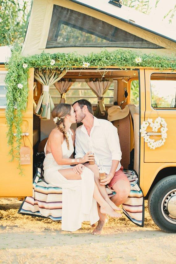 Hippie wedding inspiration  Vintage California ideas