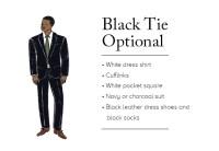 Black Tie Optional Wedding Attire For Guests - Erieairfair