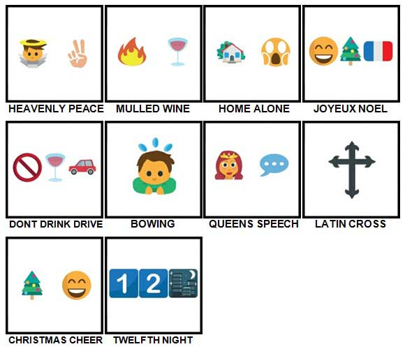 100 Pics Christmas Emoji.100 Pics Christmas Emoji Level 71 Thecannonball Org