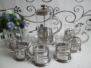 Stainless-steel-tea-maker-glass-coffee-pot-french-press-coffee-pot-carved-cup-set-pressure-pot