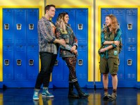 Mean Girls August Wilson Theater Cast Cady Heron Erika Henningsen Regina George Taylor Louderman Gretchen Wieners Ashley Park Karen Smith Kate Rockwell Janis Sarkisian Barrett Wilbert Weed Damian Hubbard Grey Henson Ms. Norbury Kerry Butler Aaron Samuels Kyle Selig Kevin Gnapoor Cheech Manohar Mr. Duvall Rick Younger Creative Music Jeff Richmond Lyrics Nell Benjamin Book Tina Fey Director and Choreographer Casey Nicholaw Set Designer Scott Pask Costume Designer Gregg Barnes Lighting Designer Kenneth Posner Sound Designer Brian Ronan Video Designers Finn Ross and Adam Young Orchestrations John Clancy Musical Director Mary Mitchell Campbell