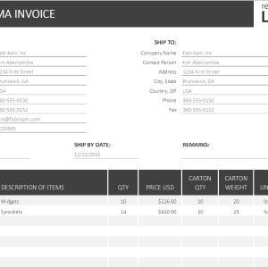 P08-Proforma Invoice, Proforma Invoice Excel Template, Financial Management, Using your money wisely, proforma invoice, proforma invoice excel