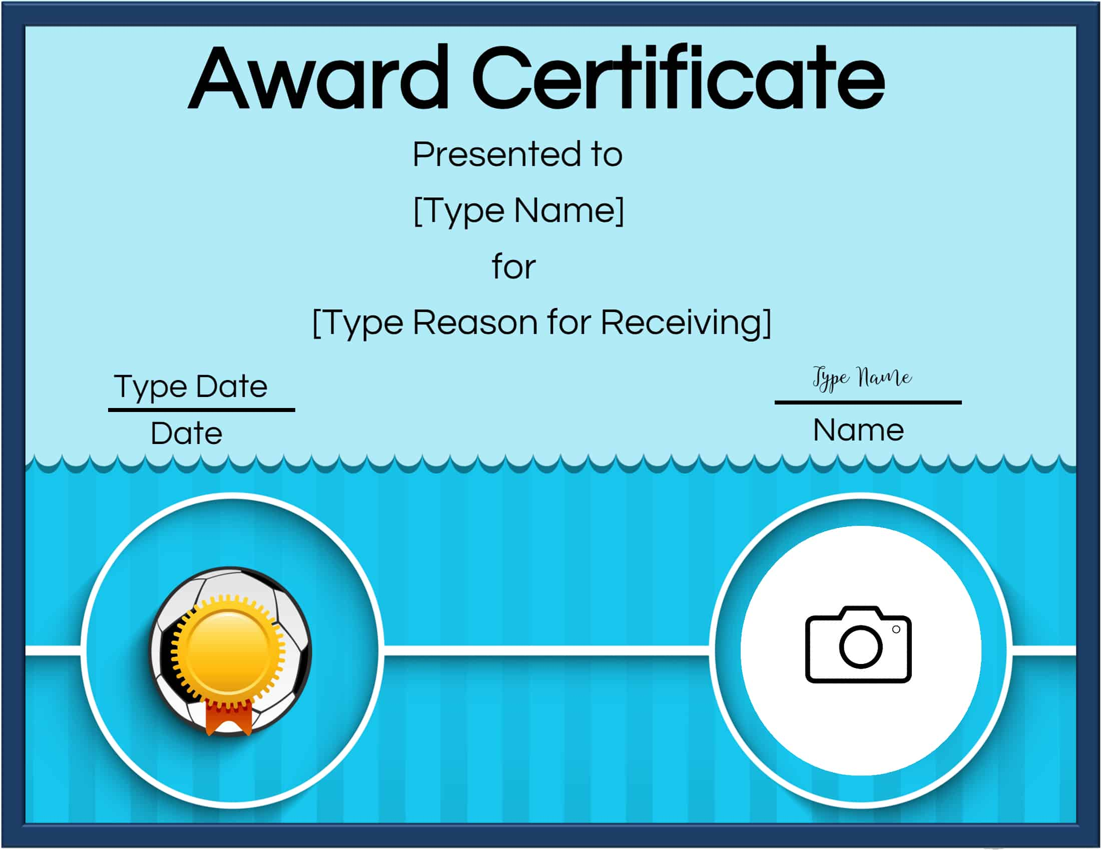 online printable certificates