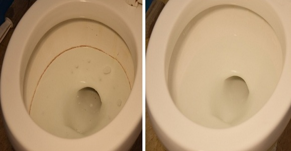 How To Remove Stains From The Toilet Bowl