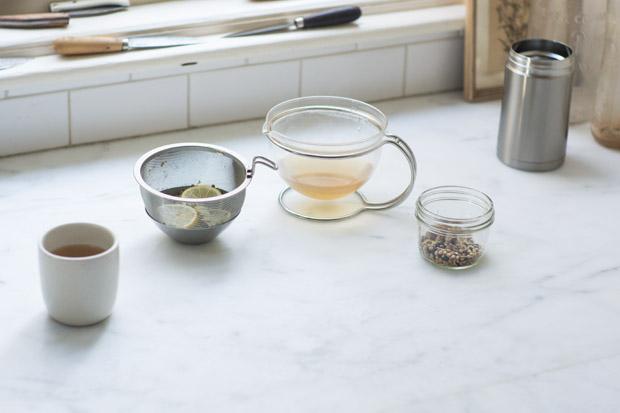 Detoxifying Mint Tea