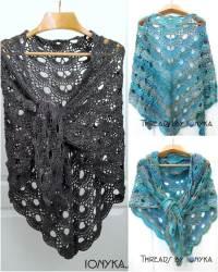 10 FREE Crochet Shawl Patterns for Women's | 101 Crochet