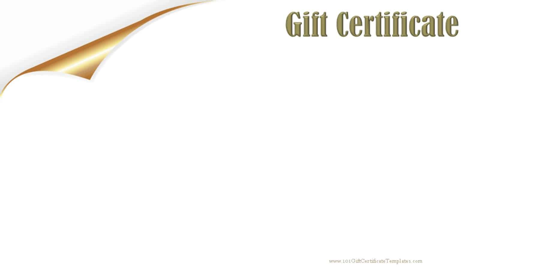 gift coupons template – Printable Gift Voucher Template