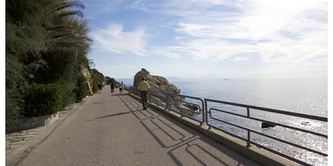 Passeggiata in bici da Cogoleto a Varazze