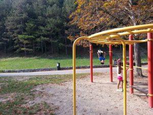 area giochi del Parco delle Mura