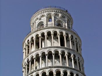 La Torre di Pisa - sommità