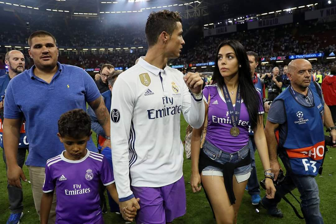 Georgina Rodriguez was a hit in Real Madrids Champions