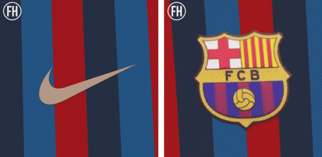 A full year ahead of release, Barcelona's classic-look 2022-23 home jersey leaks online