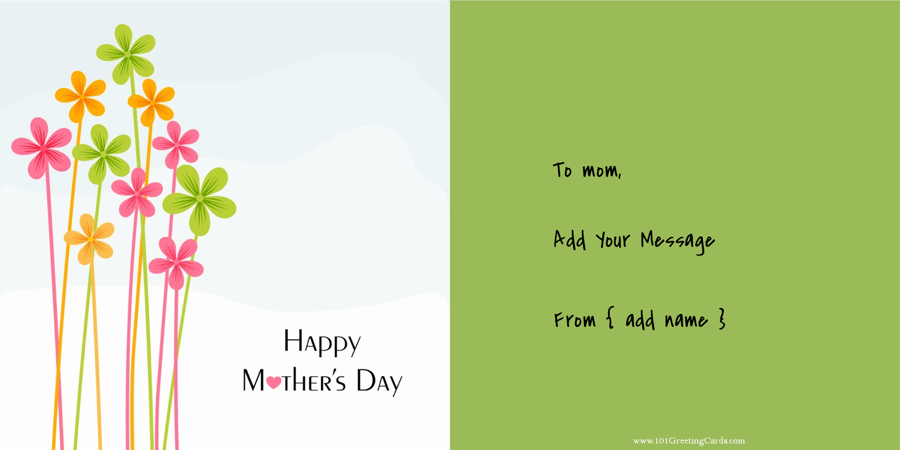 Clipart Mothers Day Cards