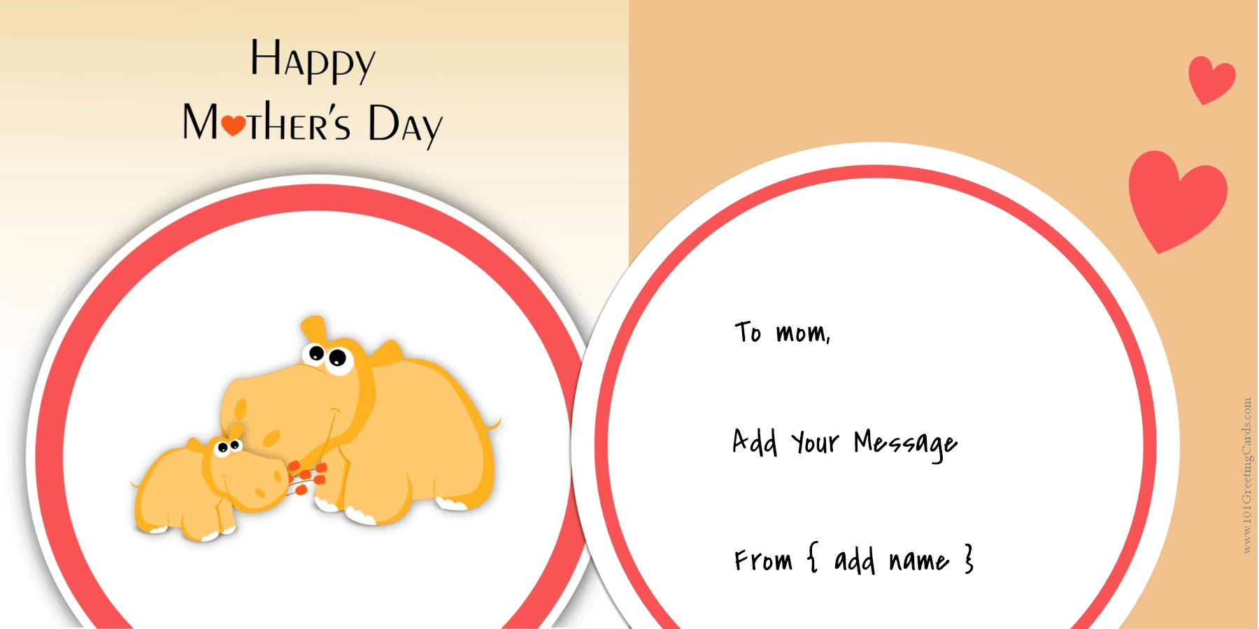 Clipart Mother's Day Cards