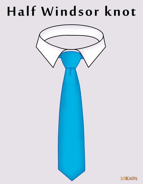 Tie A Windsor Knot Diagram