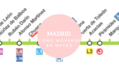 ¿Cómo moverse en metro por Madrid?