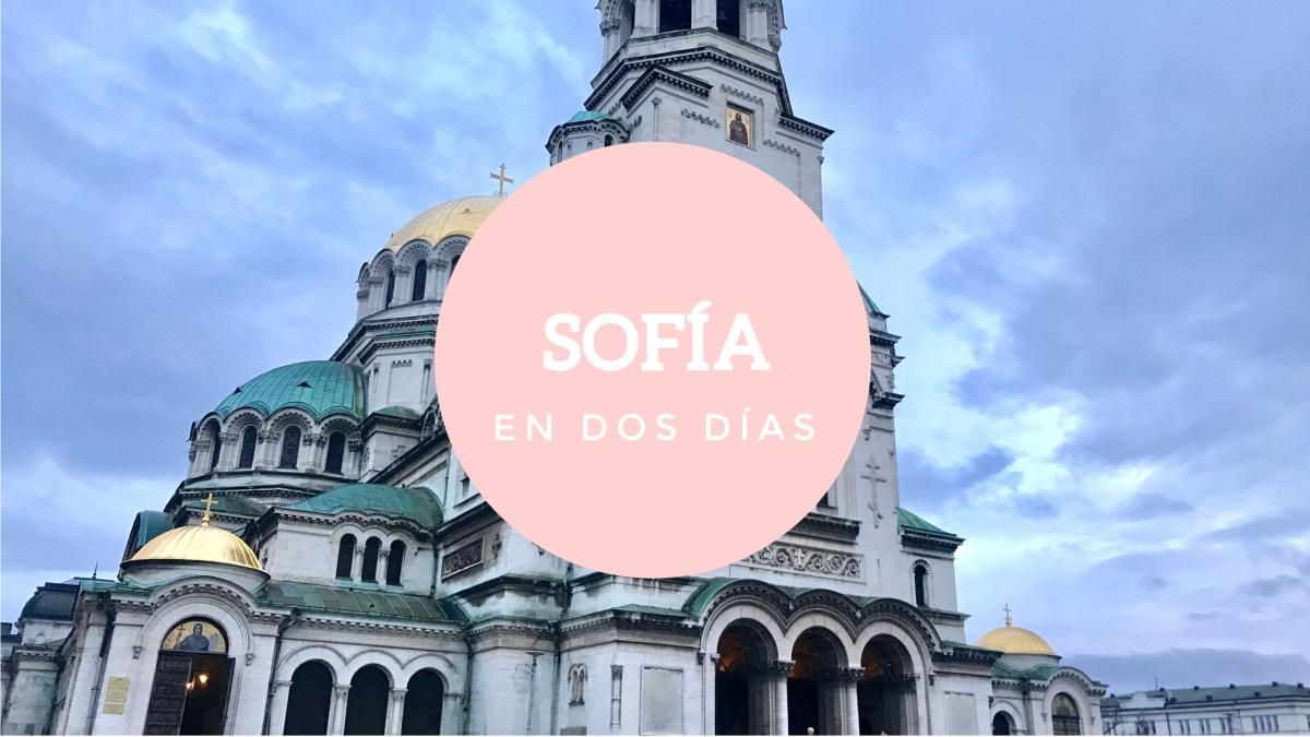 Dos días en la capital búlgara, Sofía