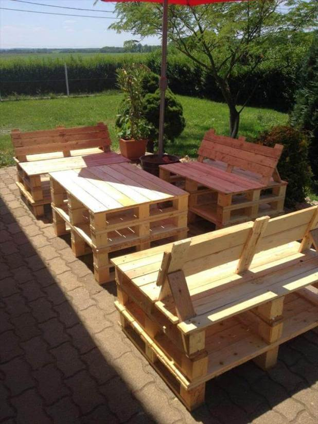 how to make garden chairs out of pallets how to - How To Make Garden Furniture Out Of Pallets