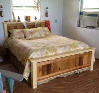 42 DIY Recycled Pallet Bed Frame Designs - Page 5 of 6 ...