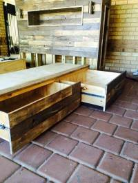 Queen Size Pallet Bed Frame Plans