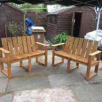 Hand Painted Pallet Bench Ideas