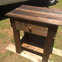 Pallet Side Table and End Table