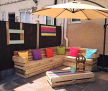Wood Pallet Patio Furniture Ideas