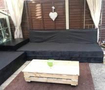 Pallet Patio Furniture Ideas - Tutorial