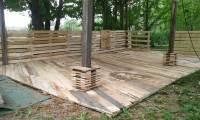 Pallet Deck - DIY Patio Furniture